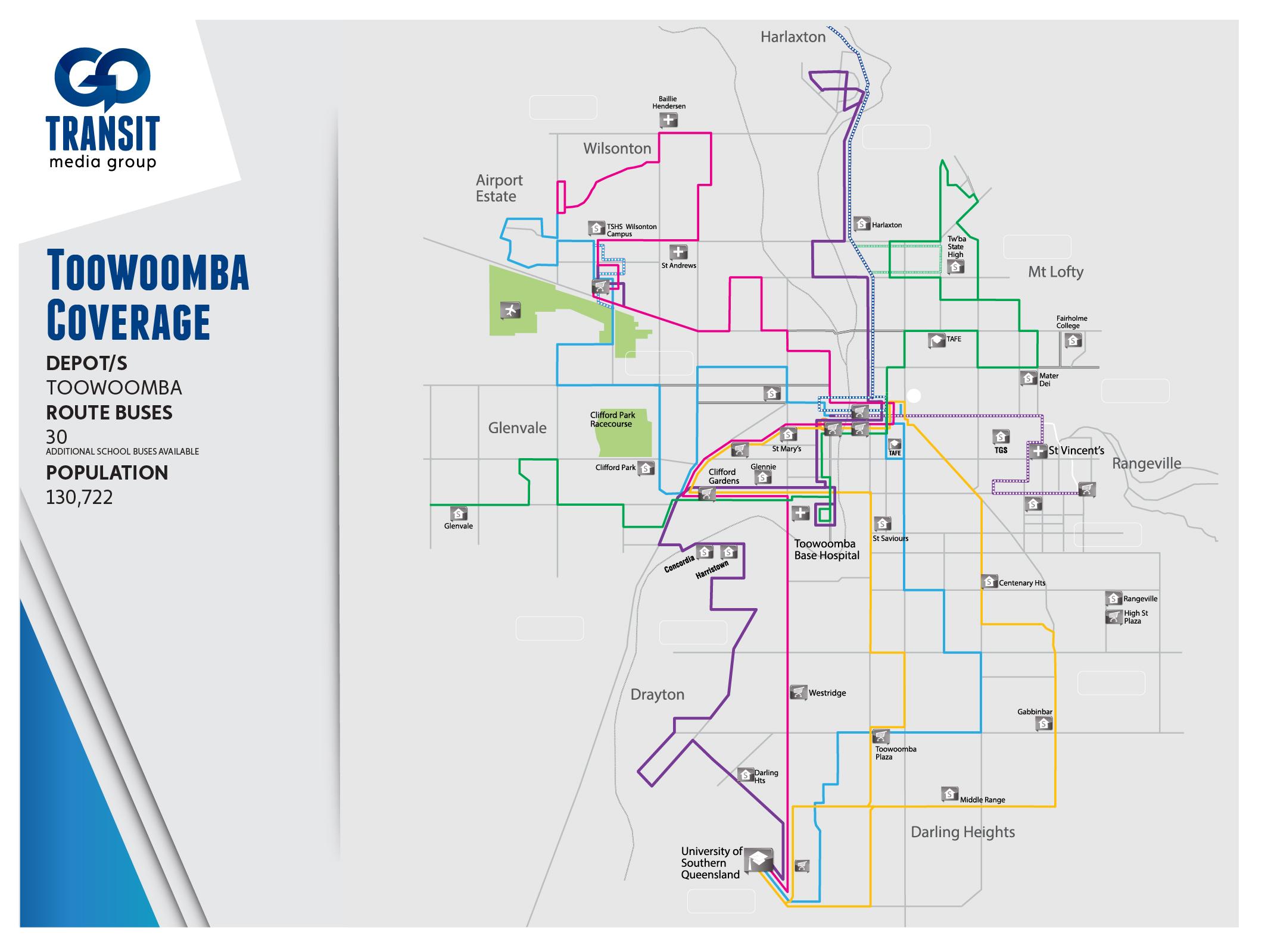 Queensland Markets Go Transit